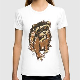 Itty the ferret boy T-shirt