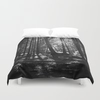 the shining Duvet Covers featuring Shining Through by Nicklas Gustafsson