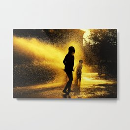 Broooklyn Summer Metal Print