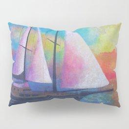 Bodrum Turquoise Coast Gulet Cruise Pillow Sham