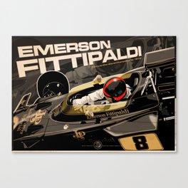 Emerson Fittipaldi  - F1 1972 Canvas Print