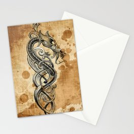Celtic  tattoo design Stationery Cards