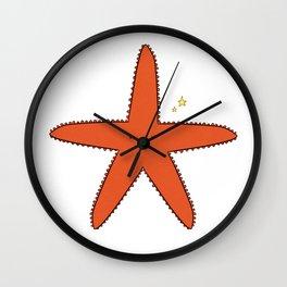 Cute Star Wall Clock