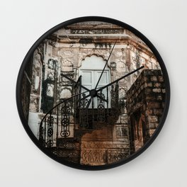 Staircase to the Secrets of the Orient Wall Clock
