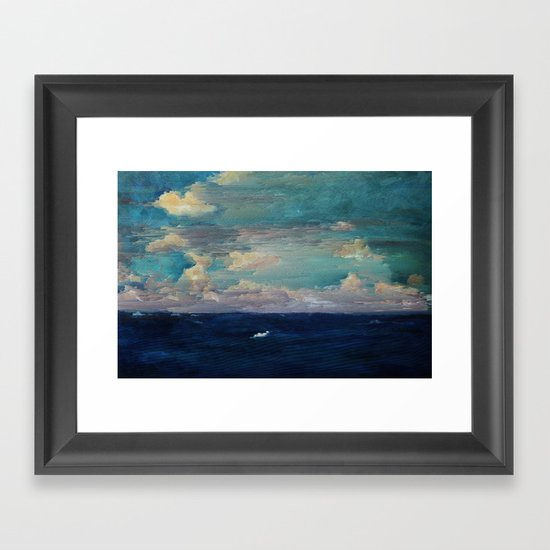 The Middle of Nowhere Framed Art Print