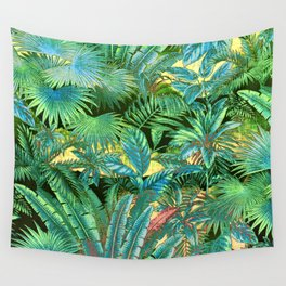 tropical forest Wall Tapestry