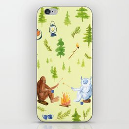 Annual Camping Trip iPhone Skin