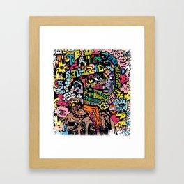 Conquering Lion Framed Art Print