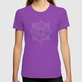 Namaste Mandala - Purple Pink T-shirt