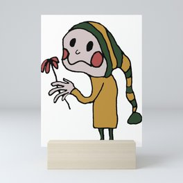 Flower Boy Mini Art Print