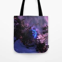 The Winter Rose Tote Bag