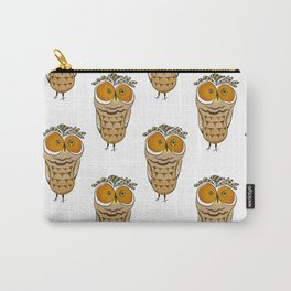 Crazy Owl Carry-All Pouch