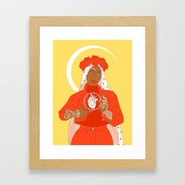 patron saint Framed Art Print