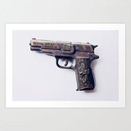 Crime Fighter #1 Art Print