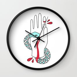 hand that feeds Wall Clock