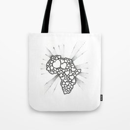 For the love of Africa Tote Bag