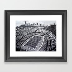 Chicago Bears Soldier Field Framed Art Print