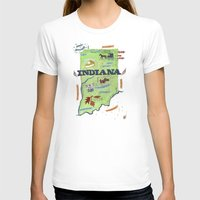indiana T-shirts featuring INDIANA by Christiane Engel