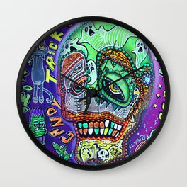Treat or Trick Wall Clock