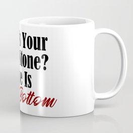 Rock Bottom Birth Stone Coffee Mug