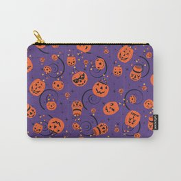 Halloween Magic- Purple Carry-All Pouch