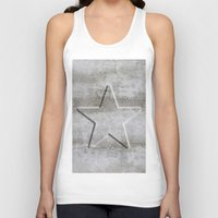 solid Tank Tops featuring Solid Star by LebensART