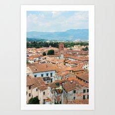Beautiful Lucca Art Print