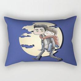 Wolfyback Rectangular Pillow