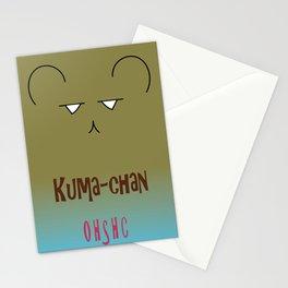Kuma-chan (Ouran High School Host Club) Stationery Cards