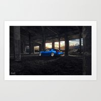 subaru Art Prints featuring Subaru BRZ by EvoG Photography