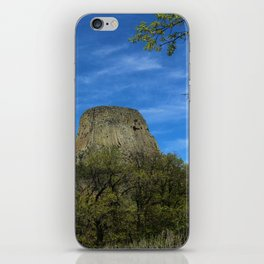 Devils Tower View iPhone Skin