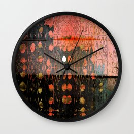 Urban Layers Wall Clock