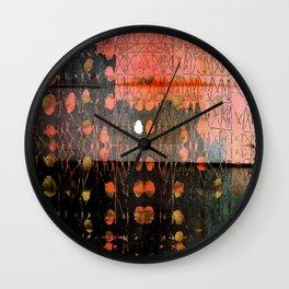 Urban Layers Wall Clock