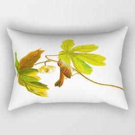 Swamp Sparrow Rectangular Pillow
