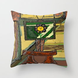Sneeker  Throw Pillow