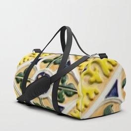 Portuguese azulejos Duffle Bag