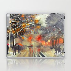 WINTER IN THE CITY Laptop & iPad Skin