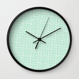 Crosshair (Green) Wall Clock
