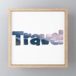 Travel Framed Mini Art Print