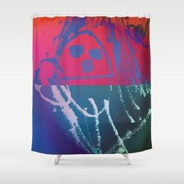 his man Shower Curtain