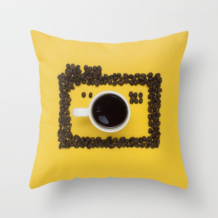 Coffee camera Deko-Kissen