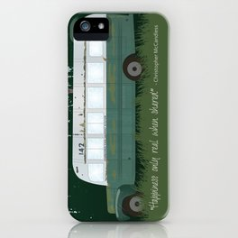 Into The Wild - Magic Bus iPhone Case