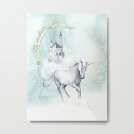 Unicorn magic Metal Print