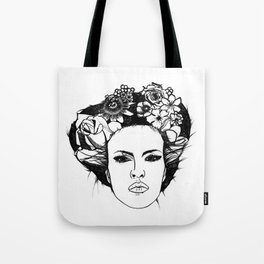 "PHOENIX AND THE FLOWER GIRL ""STEP BY STEP MOVING"" PLAIN PRINT Tote Bag"