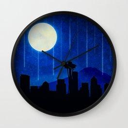 Sleepless Seattle Wall Clock