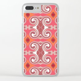 Marrakech Spice Clear iPhone Case