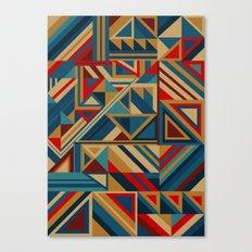 Colorgraphics I Canvas Print