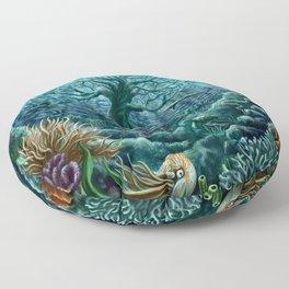 Undersea Witness Floor Pillow