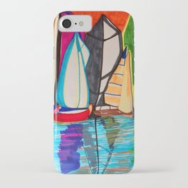 Sail Boats iPhone Case