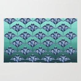 Manta ray - Sapphire Rug